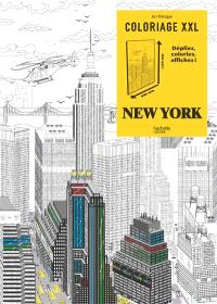 Coloriage XXL : New York