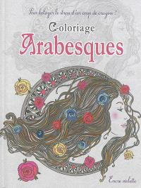 Arabesques : coloriage : format compact