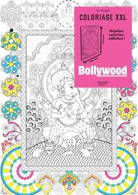 Coloriage XXL : Bollywood