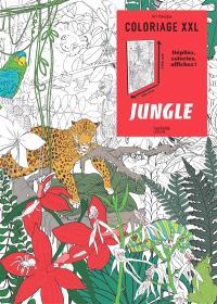 Coloriage XXL : jungle