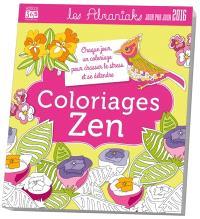 Coloriages zen 2016