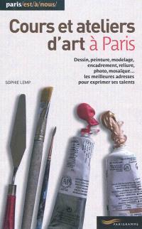 Cours et ateliers d'art à Paris