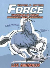 Force : techniques de dessin dynamique pour l'animation, Les animaux