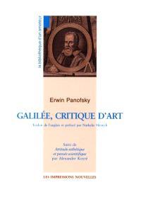 Galilée, critique d'art. Attitude esthétique et pensée scientifique
