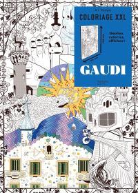 Gaudi : coloriage XXL