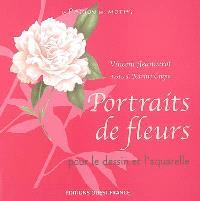 Portraits de fleurs pour le dessin ou l'aquarelle
