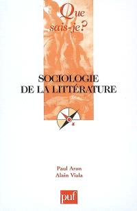 Sociologie de la littérature