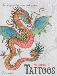 Tattoos : coloriage : format compact