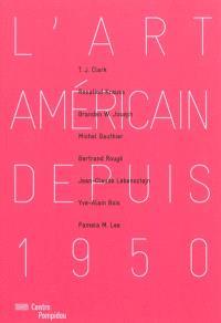 L'art américain depuis 1950