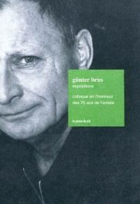 Günter Brus, expositions : colloque en l'honneur des 70 ans de l'artiste