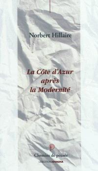 La Côte d'Azur après la modernité