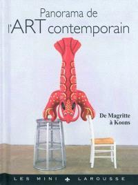Panorama de l'art contemporain : de Magritte à Koons