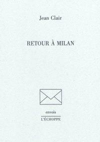 Retour à Milan