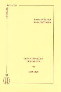Les catalogues des Salons. Volume 7, 1859-1863