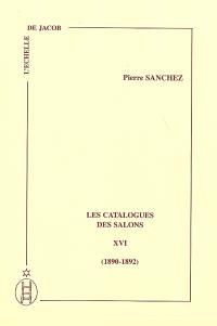 Les catalogues des Salons. Volume 16, 1890-1892