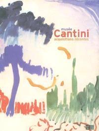 Musée Cantini, acquisitions récentes : 1989-2004 : exposition, Marseille, Musée Cantini, du 30 juin au 31 octobre 2004