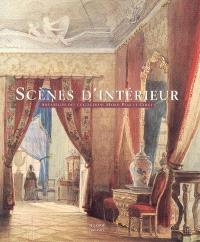 Scènes d'intérieur : aquarelles des collections Mario Praz et Chigi