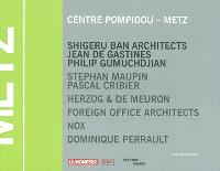 Concours Centre Pompidou-Metz