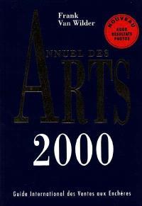 Annuel des arts 2000