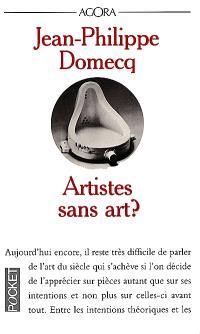Artistes sans art ?