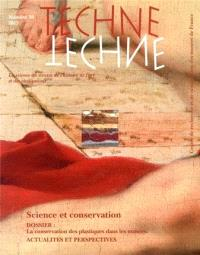Techné. n° 38, Science et conservation