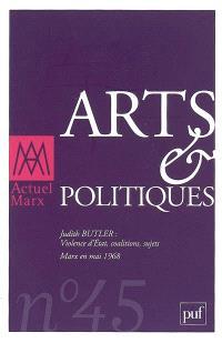 Actuel Marx. n° 45, Arts & politiques