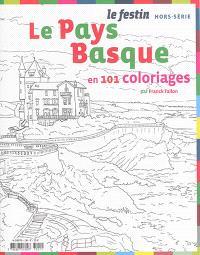 Festin (Le), hors série, Le Pays basque : en 101 coloriages