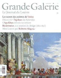 Grande Galerie, le journal du Louvre. n° 1