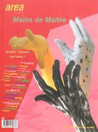 Area revue. n° 31, Mains de maître