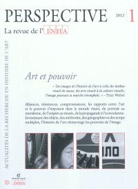 Perspective. n° 1 (2012), Art et pouvoir