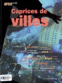 Arearevue)s(. n° 16, Caprices de villes