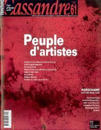 Cassandre. n° 61, Peuple d'artistes