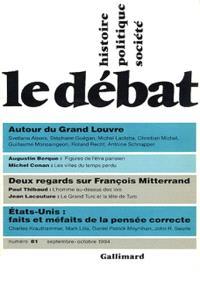 Débat (Le). n° 81, Autour du Grand Louvre : le musée, l'art, la ville