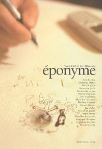 Eponyme, revue d'art et de littérature. n° 1