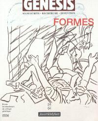 Genesis. n° 24, Formes