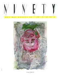 Ninety. n° 24, Georg Baselitz, Marc Couturier