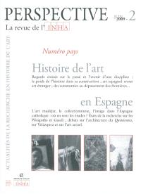 Perspective. n° 2 (2009), Histoire de l'art en Espagne
