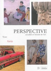Perspective. n° 1 (2015), Varia