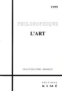 Philosophique, L'art