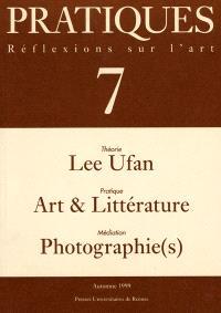 Pratiques. n° 7, Réflexions sur l'art