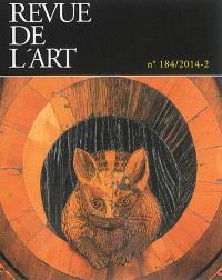 Revue de l'art. n° 184