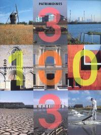 Trois cent trois-Arts, recherches et créations. n° 100, Patrimoines