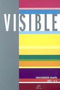 Visible. n° 3, L'hétérogénéité du visuel : 3e partie, intermédialité visuelle