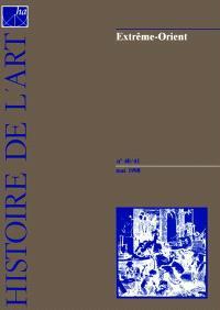 Histoire de l'art. n° 40-41, Extrême-Orient