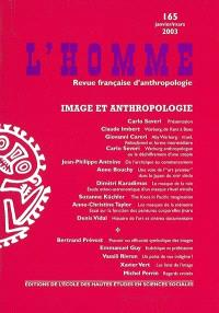 Homme (L'). n° 165, Image et anthropologie