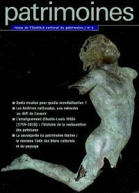 Patrimoines. n° 4
