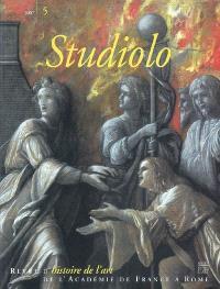 Studiolo. n° 5, L'art : de l'actualité à l'histoire