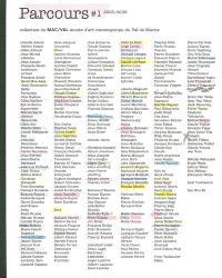 Parcours. Volume 1, 2005-2006
