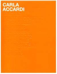 Carla Accardi : exposition, Paris, Musée d'art moderne de la Ville de Paris, 17 janv.-3 mars 2002