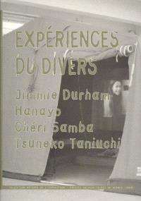 Expériences du divers : Jimmie Duhram, Hanayo, Cheri Samba, Tsumeko Taniuchi
